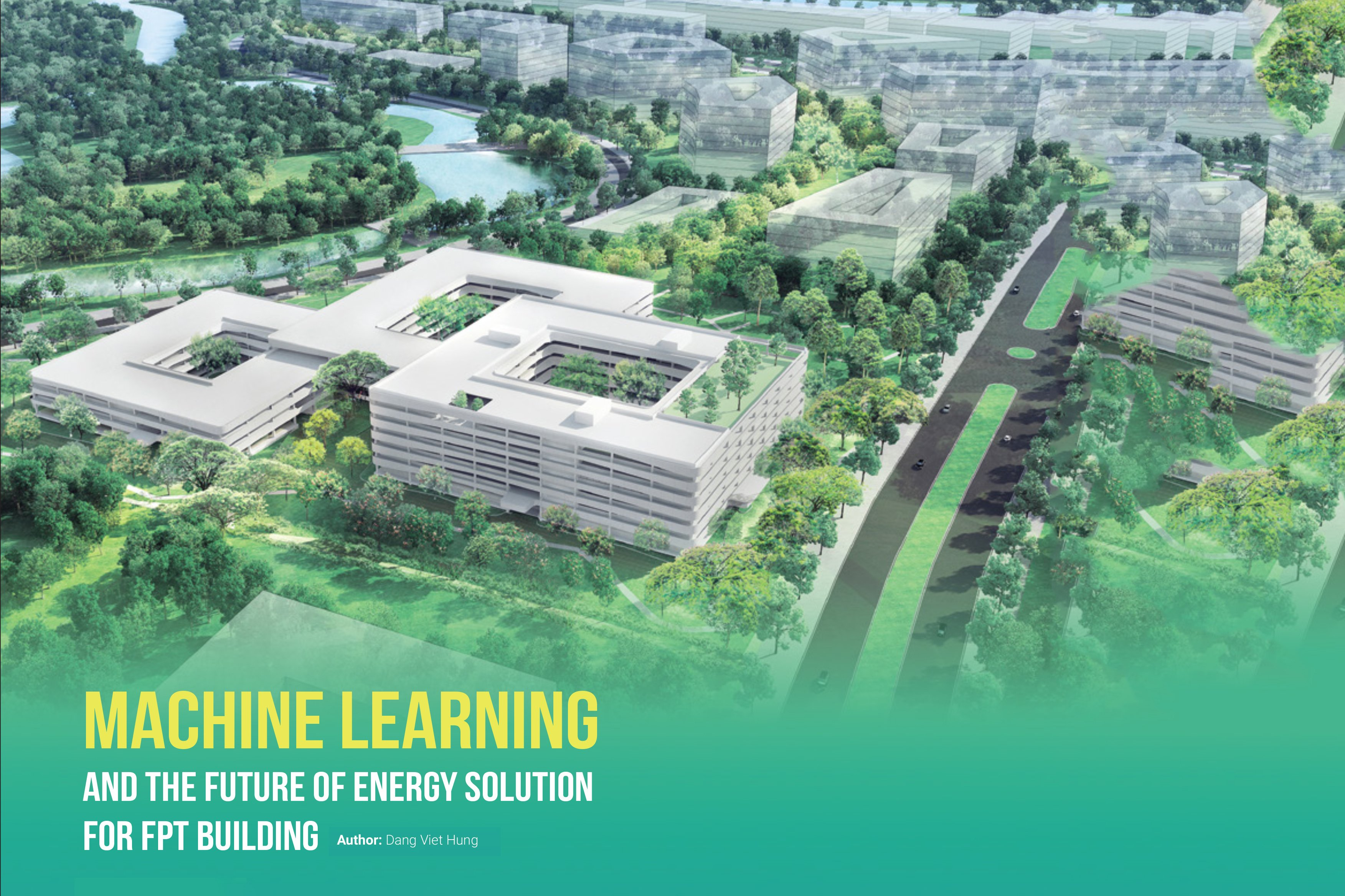 Machine Learning and the Future of Energy Solution for FPT Building