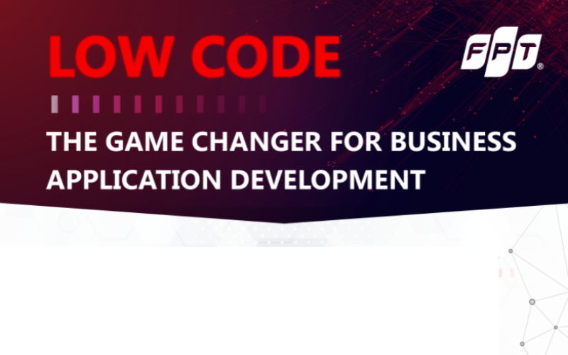 Low-code - The Game Changer for Business Application Development