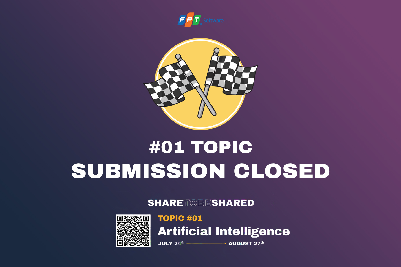 #01 Topic AI: SUBMISSION CLOSED